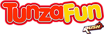 TunzaFun Rush Fountain Gate Logo